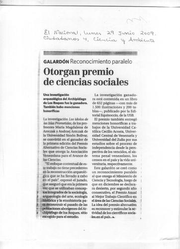 El Nacional, 29 Junio 2009