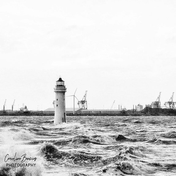 Rough Seas - New Brighton