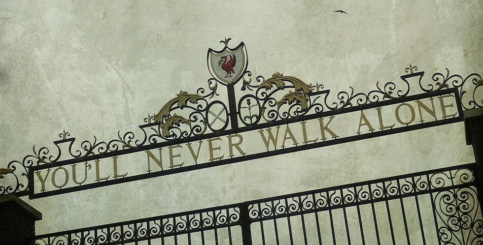 YNWA - Shankly Gates, Anfield