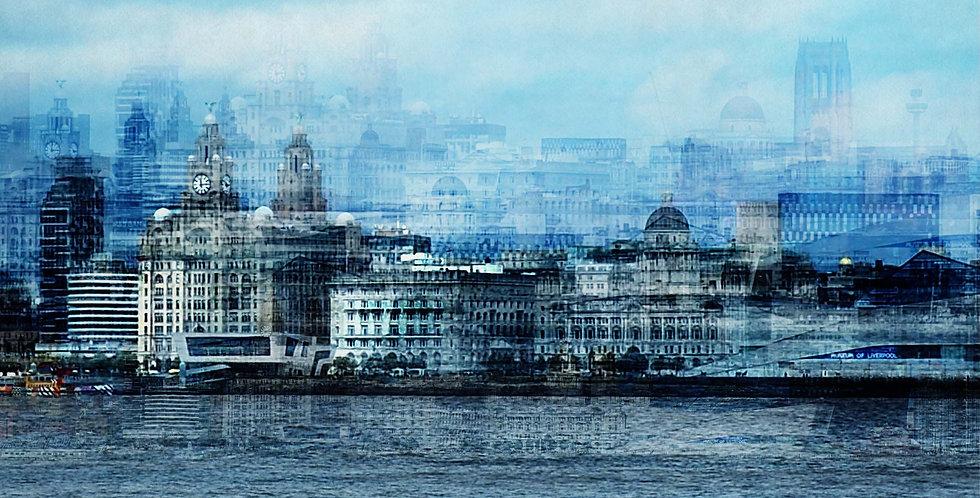 Waterfront Montage - Fine Art Print