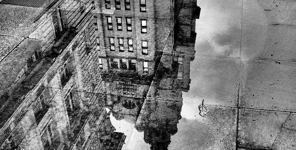 City Reflection - Black & White