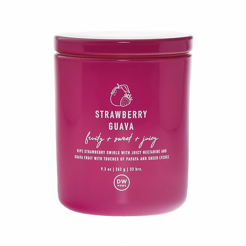 DW Home Candle - Strawberry Guava Medium