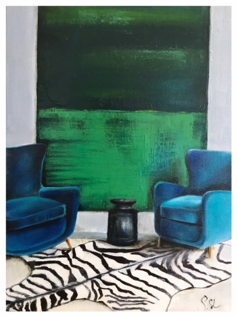 Zebra  (Sold)