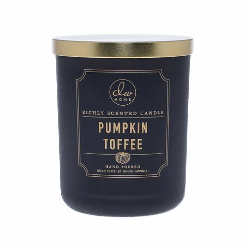 DW Home Candle - Pumpkin Toffee Large