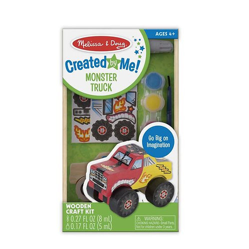 Created by Me! Monster Truck Wooden Craft Kit