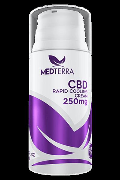 Medterra CBD 250mg Rapid Cooling Cream 3.4oz