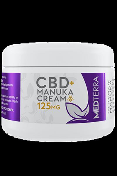Medterra CBD + Manuka Honey Cream 125mg