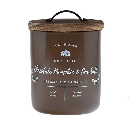DW Home Candle - Chocolate Pumpkin & Sea Salt