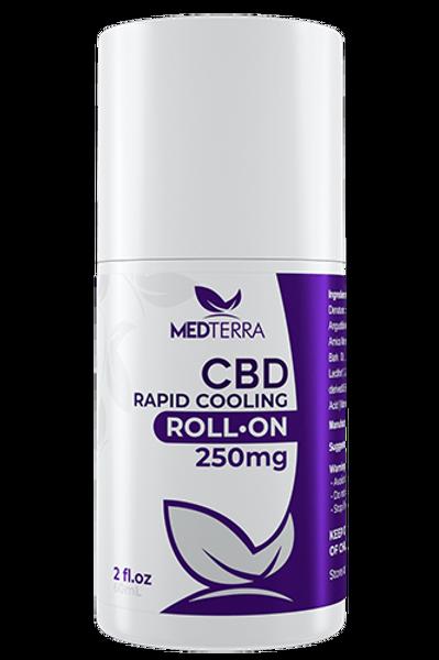 Medterra CBD 250mg Cooling Roll-On Cream