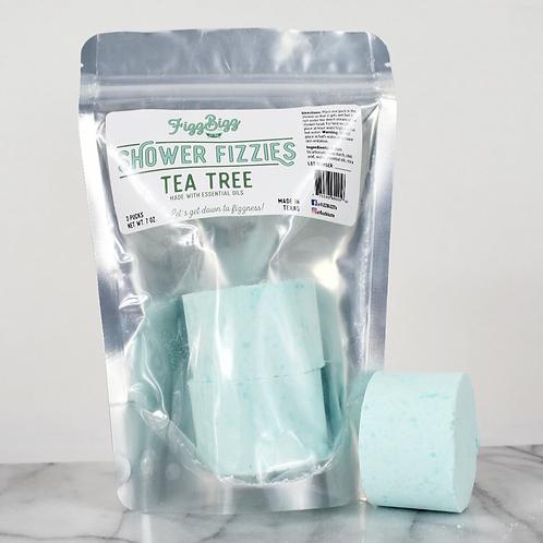 Fizz Bizz Shower Fizzies - Tea Tree