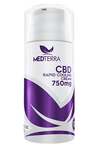 Medterra CBD 750mg Rapid Cooling Cream