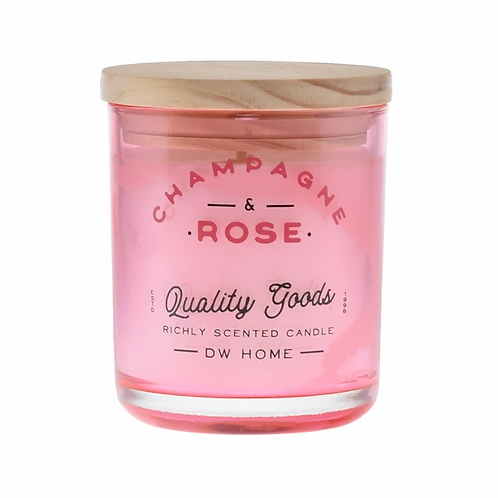 DW Home Candle - Champagne & Rose