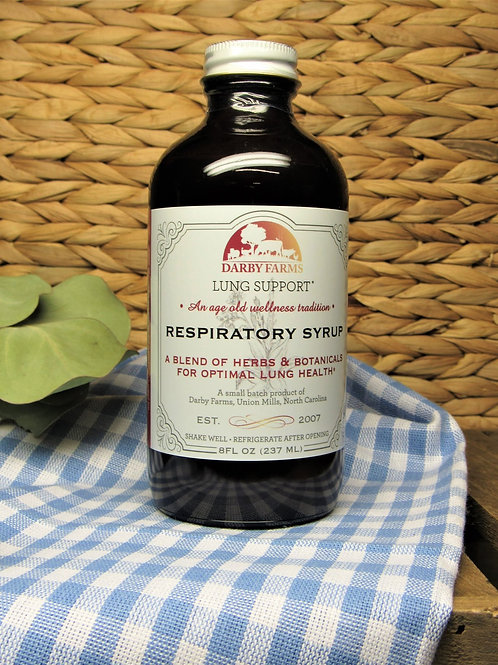 Darby Farms Respiratory Syrup - 8oz