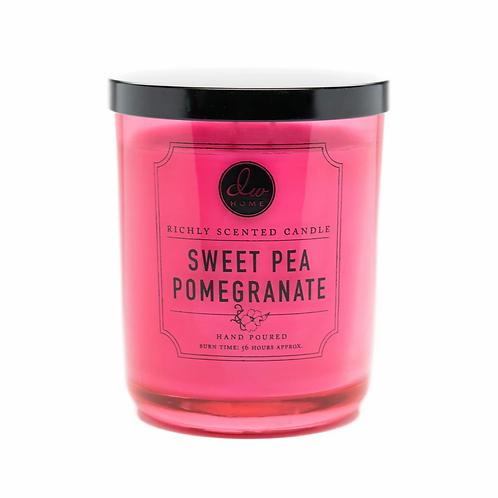 DW Home Candle - Sweet Pea Pomegranate Medium