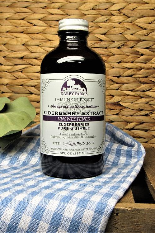 Darby Farms Elderberry Unsweetened 8oz