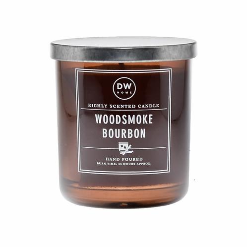 DW Home Candle -Woodsmoke Bourbon Medium