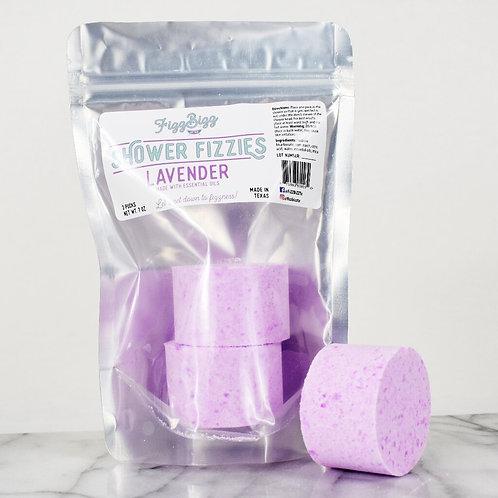 Fizz Bizz Shower Fizzies - Lavender