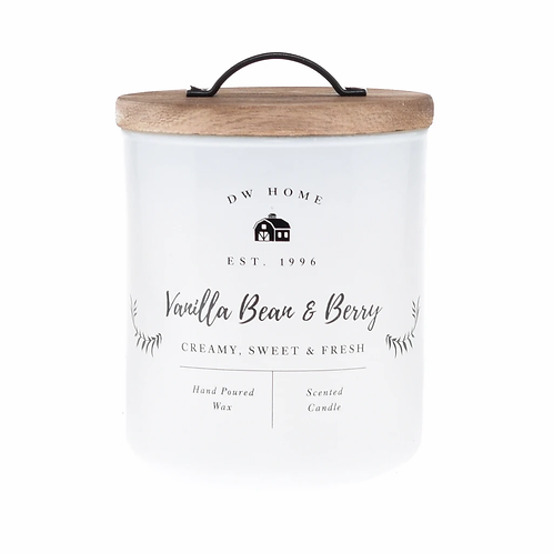DW Home Candle - Vanilla Bean & Berry Medium