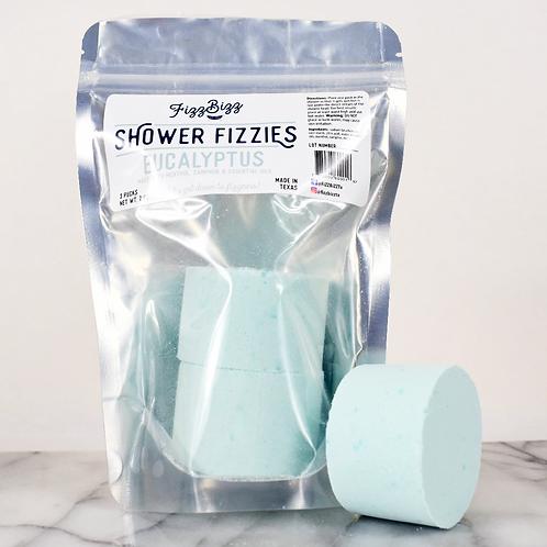 Fizz Bizz Shower Fizzies - Eucalyptus