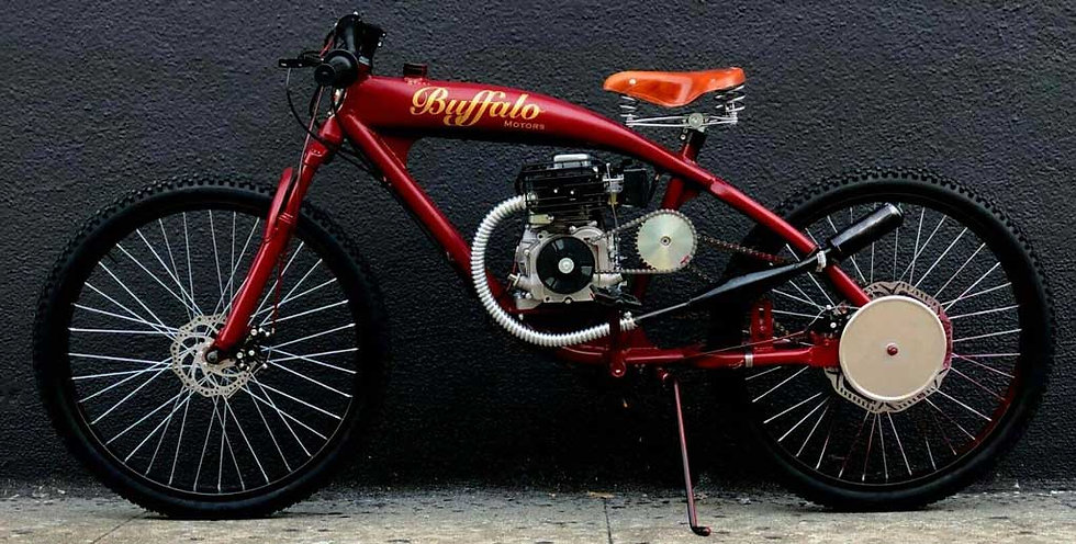 1930 SBM Board Track Racer Tribute - Antique Indian Red
