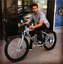 riding-motorized-bicycle