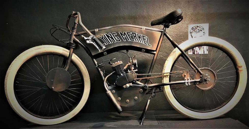 1911 Board Track Racer Flying Merkel Tribute