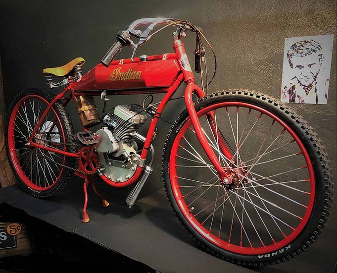 1918 Indian Board Track Racer Tribute