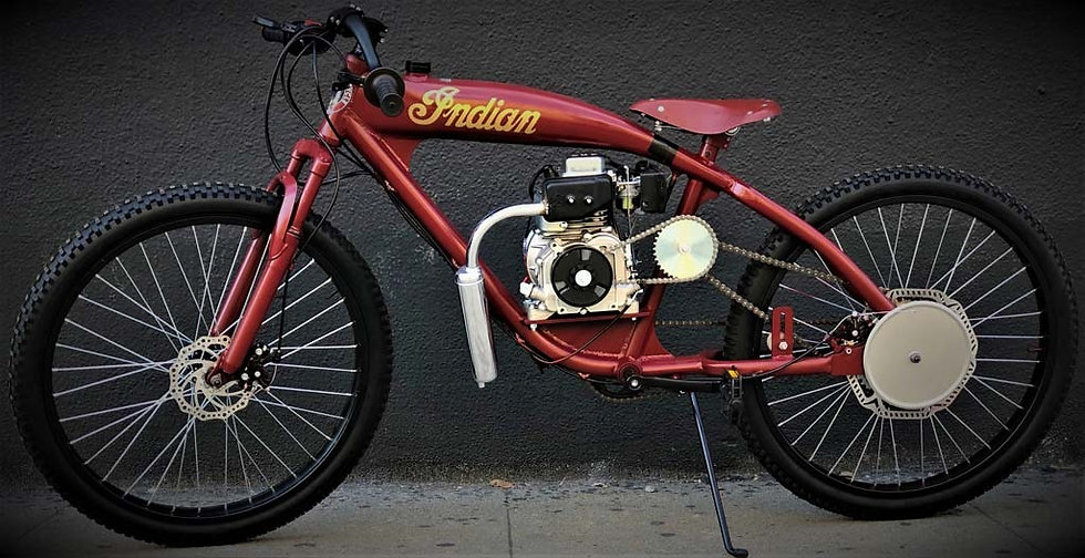 1930 Indian Board Track Racer Tribute - Old Red