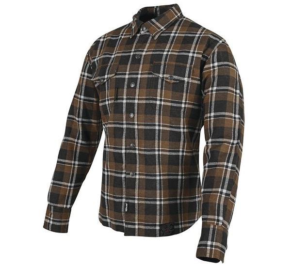 Speed and Strength Men's Black Nine Reinforced Moto Shirt