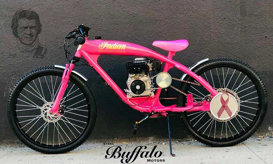 1930 Indian Board Track Racer Tribute - Pink