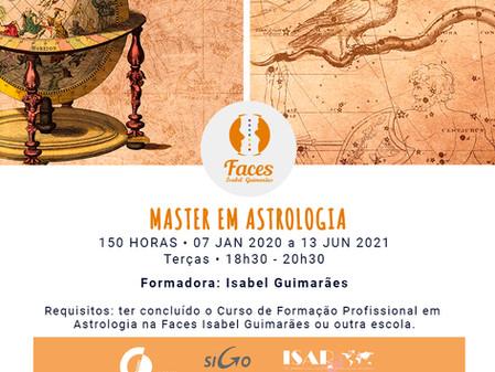 Master em Astrologia - Inscrições Abertas