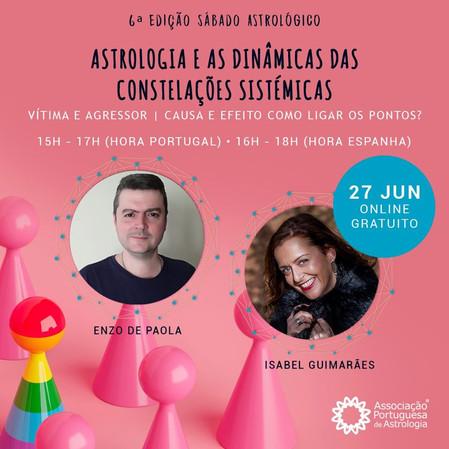 Astrologia e as Dinâmicas das Constelações Sistémicas - Gratuito - OnLine