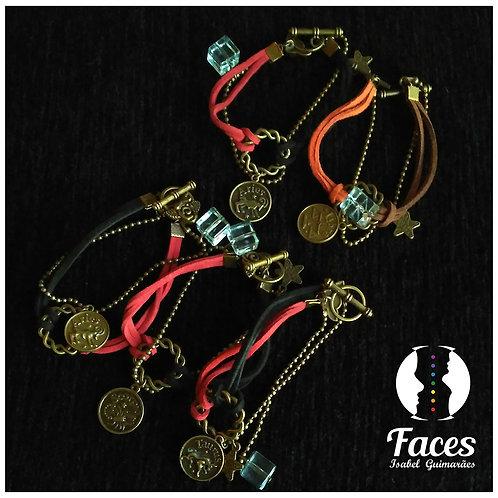 Pulseiras Amuleto Bronze