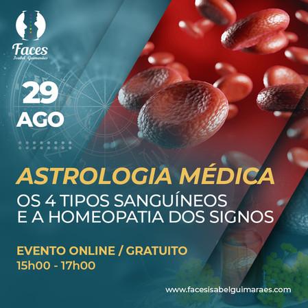 Astrologia Médica Os 4 tipos sanguíneos e a homeopatia dos signos - Gratuito