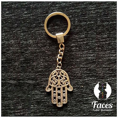 Porta-chaves Mão de Deus