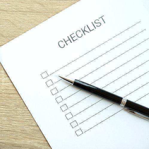 DIY Guided Resume Checklist eBook