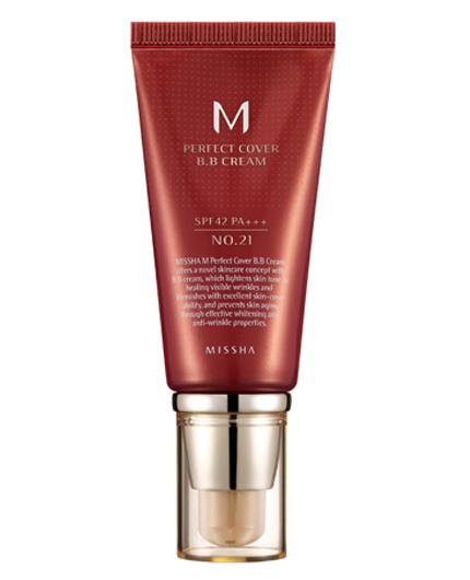 MISSHA M Perfect Cover BB Cream SPF42 PA+++ 21 Light Beige