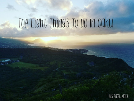 Top Eight Things To Do In Oahu, Hawaii
