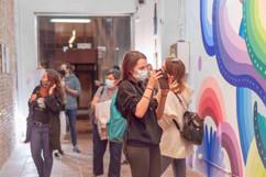 Exposición Alessia Innocenti Thewood Espacio Galería Coworking Barcelona