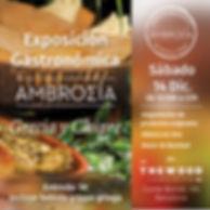 Anna Okatana Ambrosia afiche tapa griega