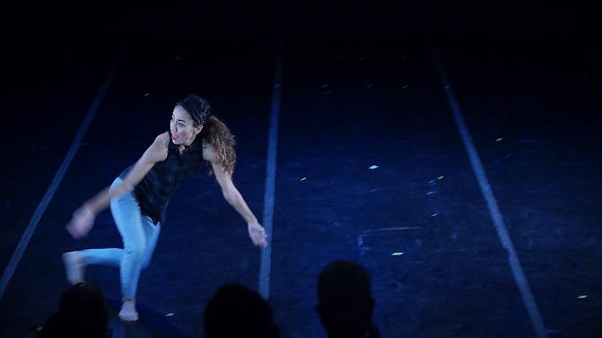 Rosa Rodriguez Frazier, FLACC Danc Festival, Narración Quebradona