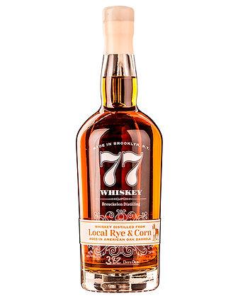 Breuckelen Distilling 77 Local Rye and Corn Whiskey