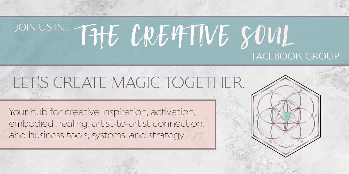 The Creative Soul Facebook Banner