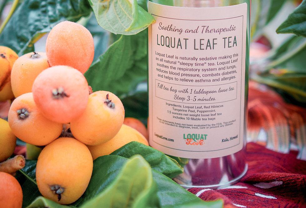 LOQUAT LEAF TEA