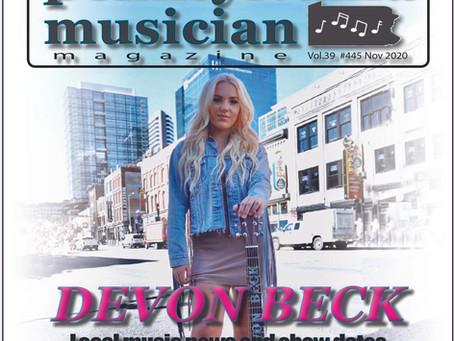 Cover Story-November 2020 - Devon Beck