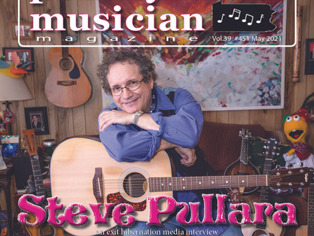 Cover Story - May 2021 - Steve Pullara