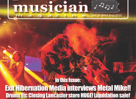 Cover Story - August 2020 - Metal Mike
