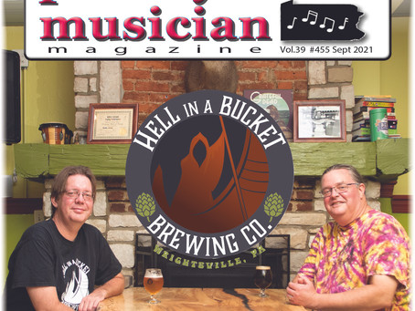 Cover Story Sept. 2021 - Hell In A Bucket Brewery