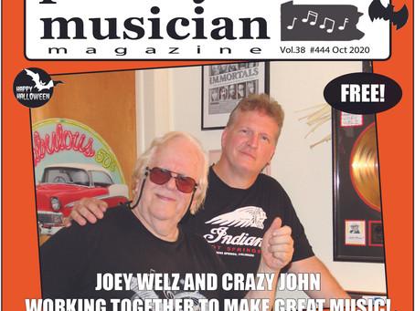 Cover Story - October 2020 - Joey Welz & Crazy John