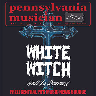 2020 July PA Musician Magazine Cover - W